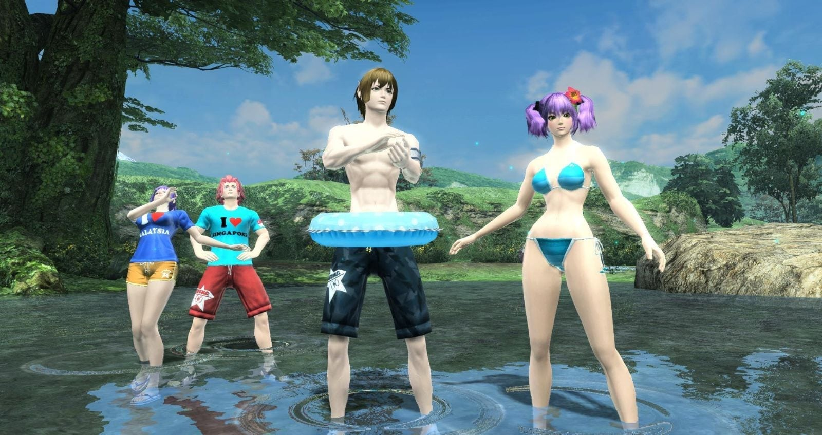 Phantasy Star Online 2 SEA - Summer costumes 2