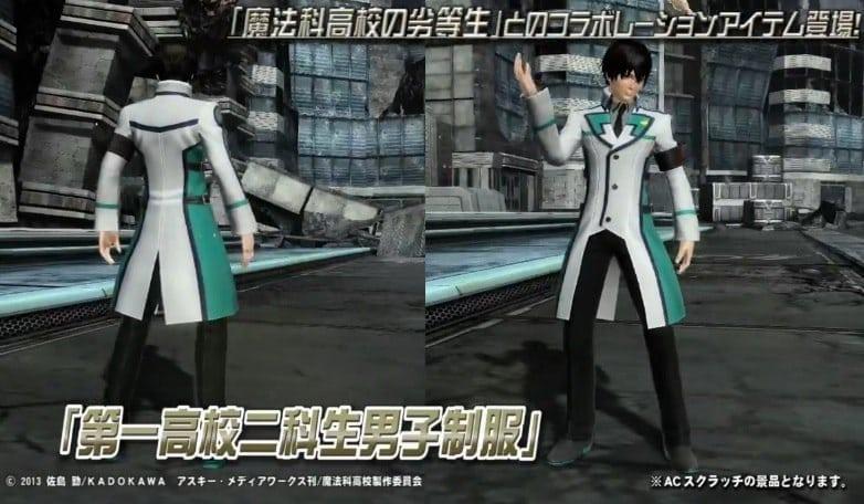 Phantasy Star Online 2 - The Irregular at Magic High School costume 1
