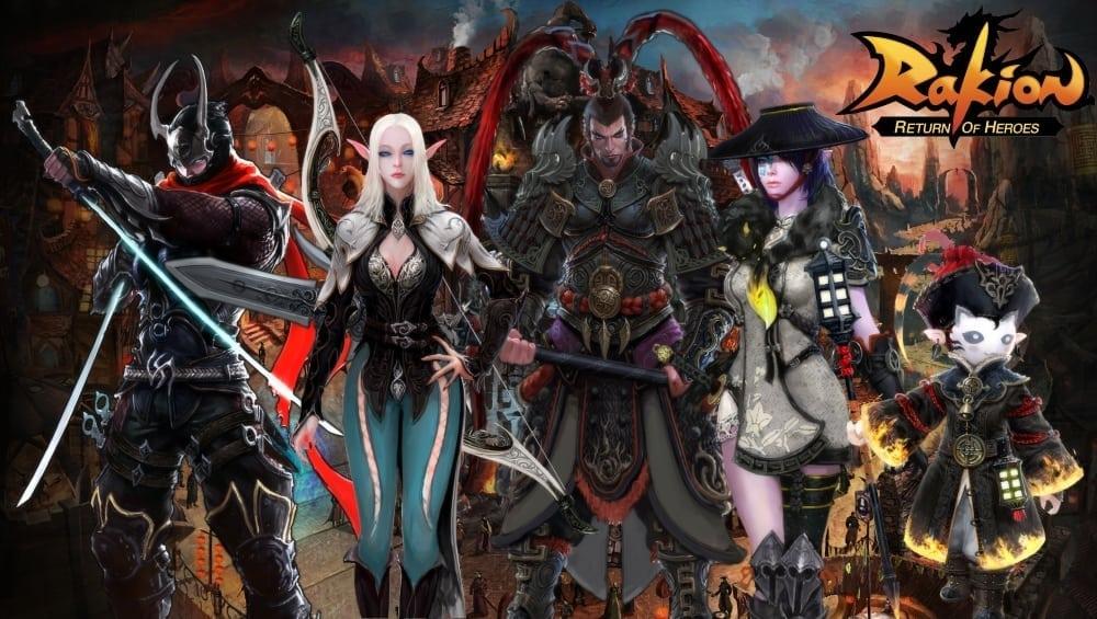 Rakion Return of Heroes characters