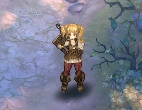 Tree of Savior - Emotion action