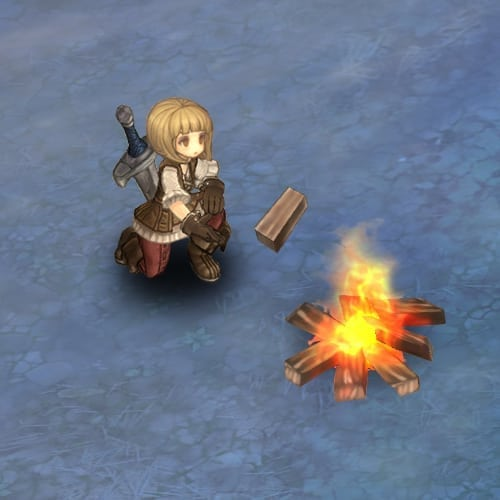 Tree of Savior - Fire place flames