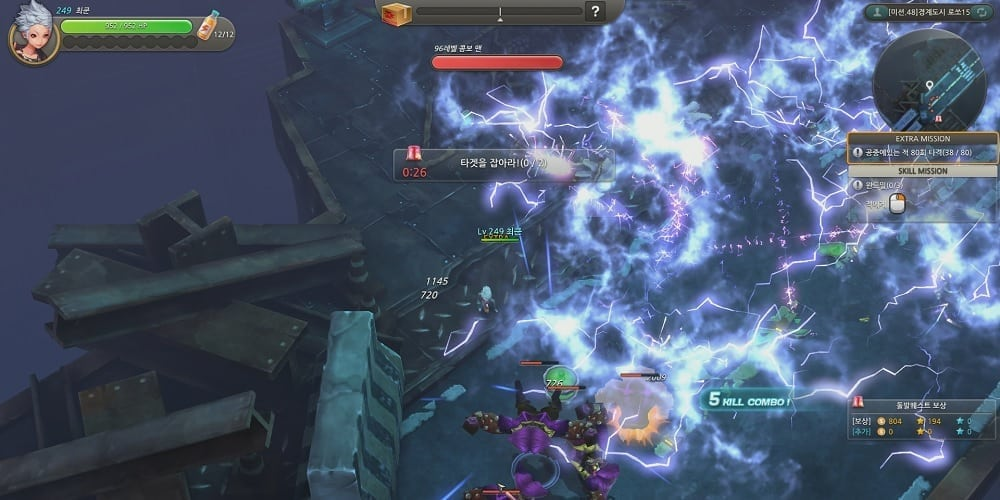 HeroWarz - Combat screenshot