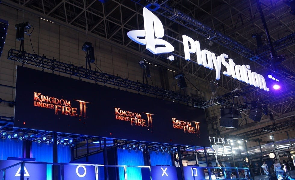 Kingdom Under Fire II - Tokyo Game Show 2014 PlayStation booth