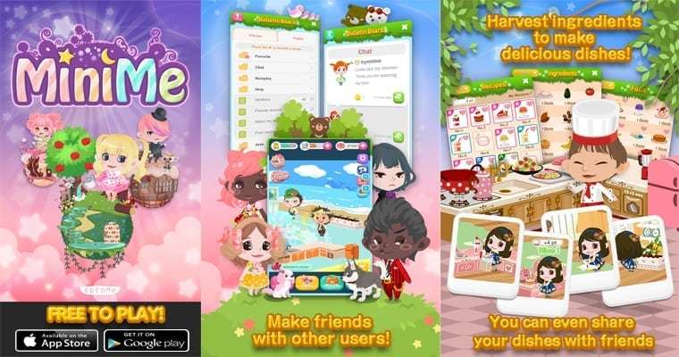 Mini Me – Japan studio launches new social networking game