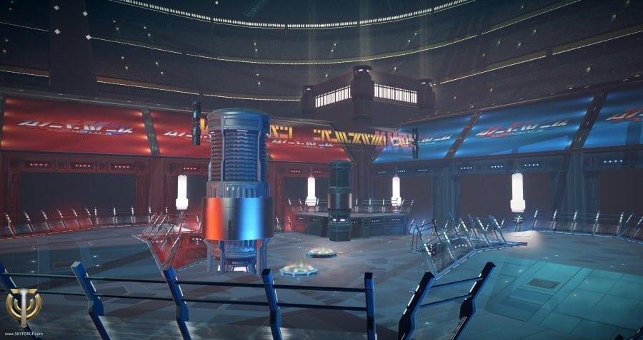 Skyforge PvP map - Kingezi Arena