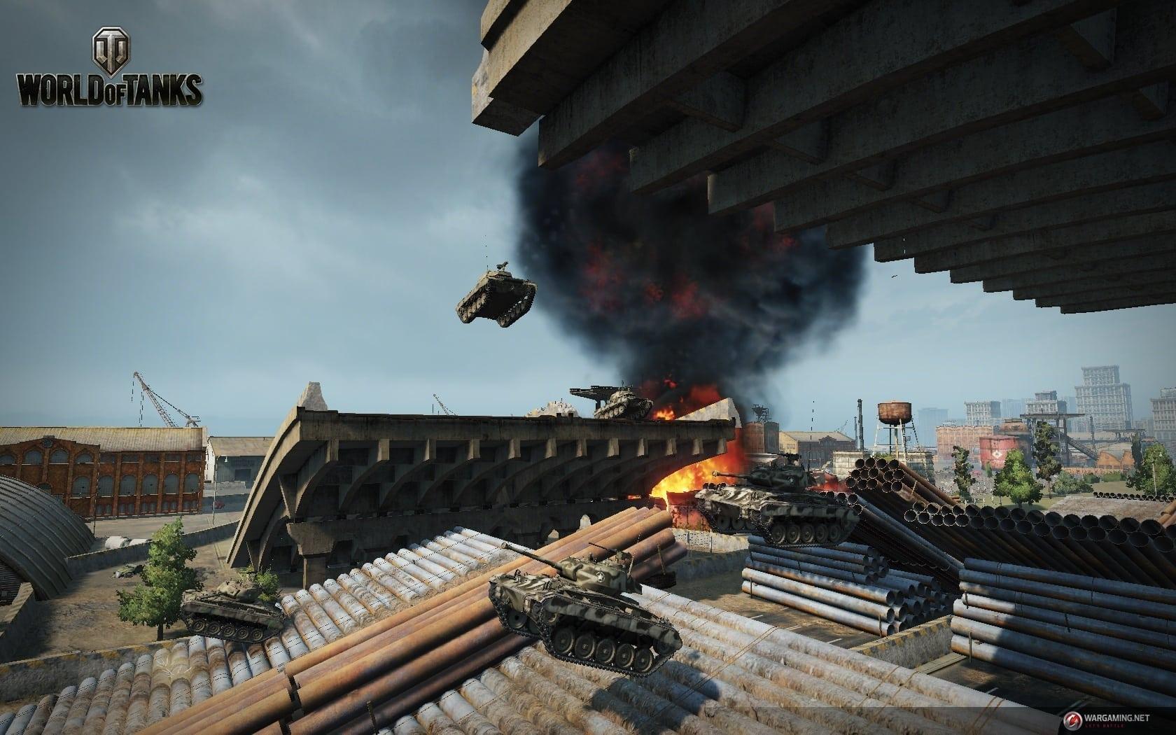 World of Tanks - Tank Rally mode screenshot 1