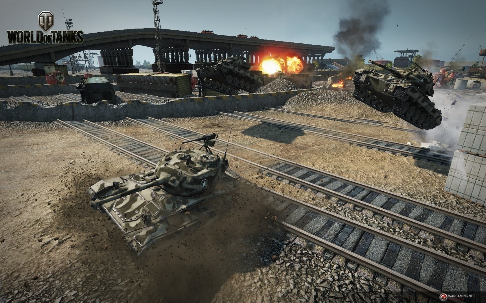World of Tanks - Tank Rally mode screenshot 2