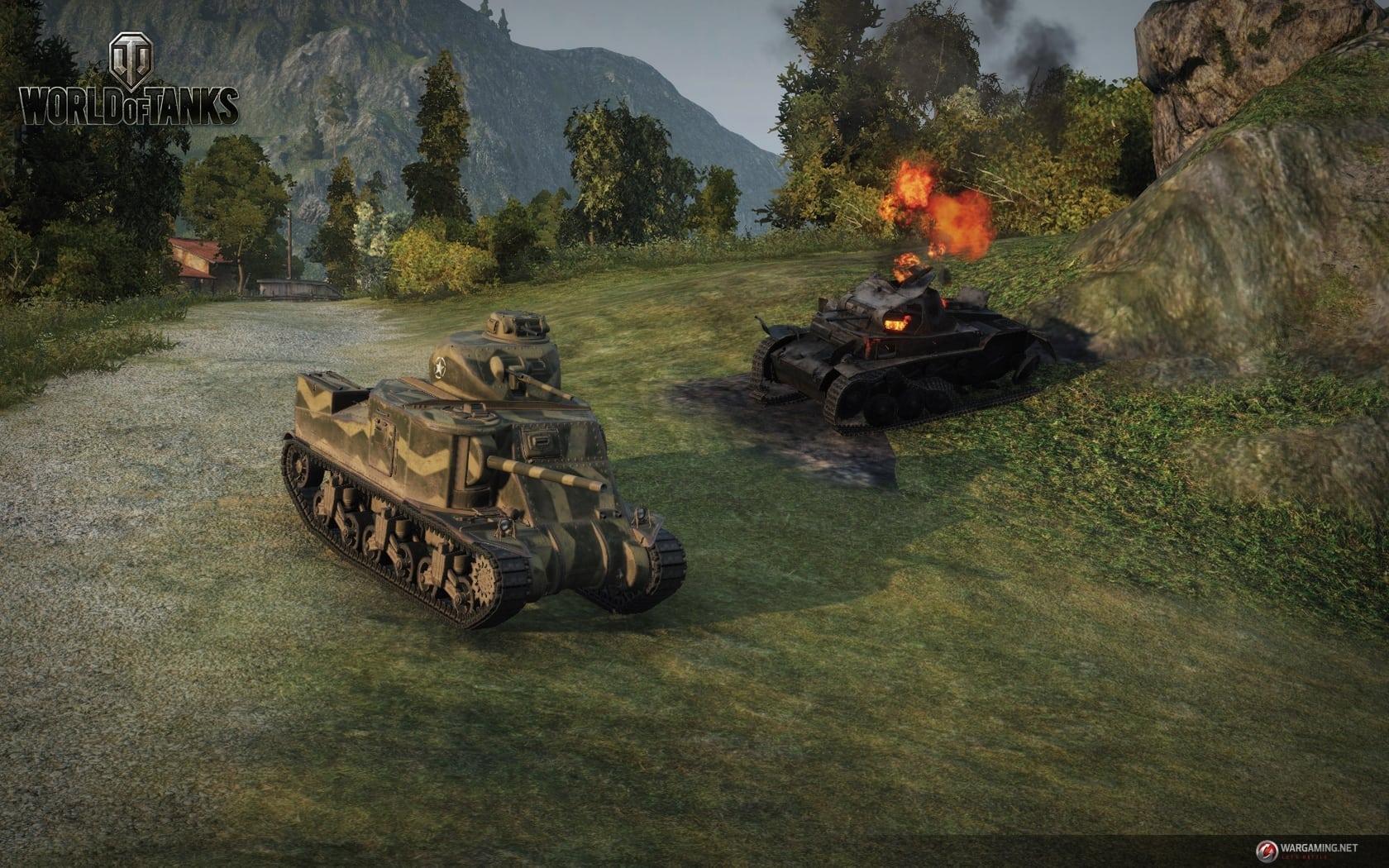 World of Tanks Update 9.1 screenshot 2