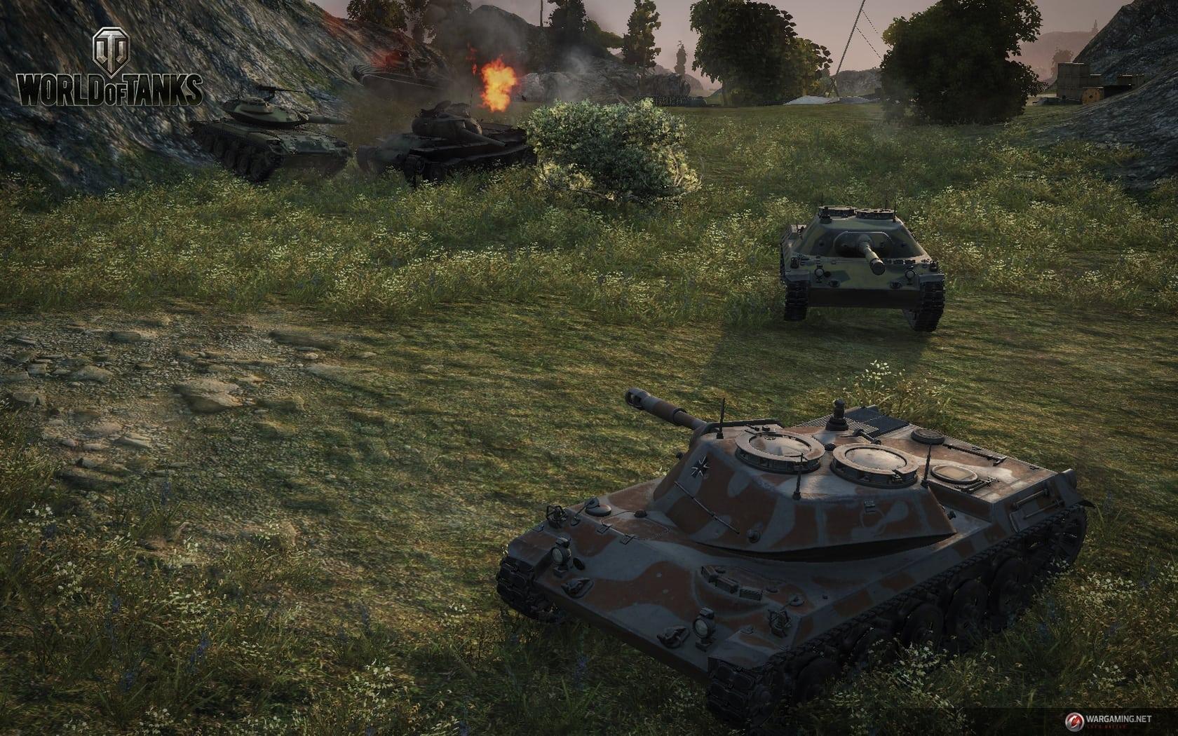 World of Tanks Update 9.1 screenshot 3