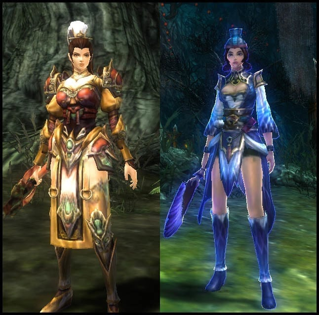 Yulgang 2 - Timeshift costumes