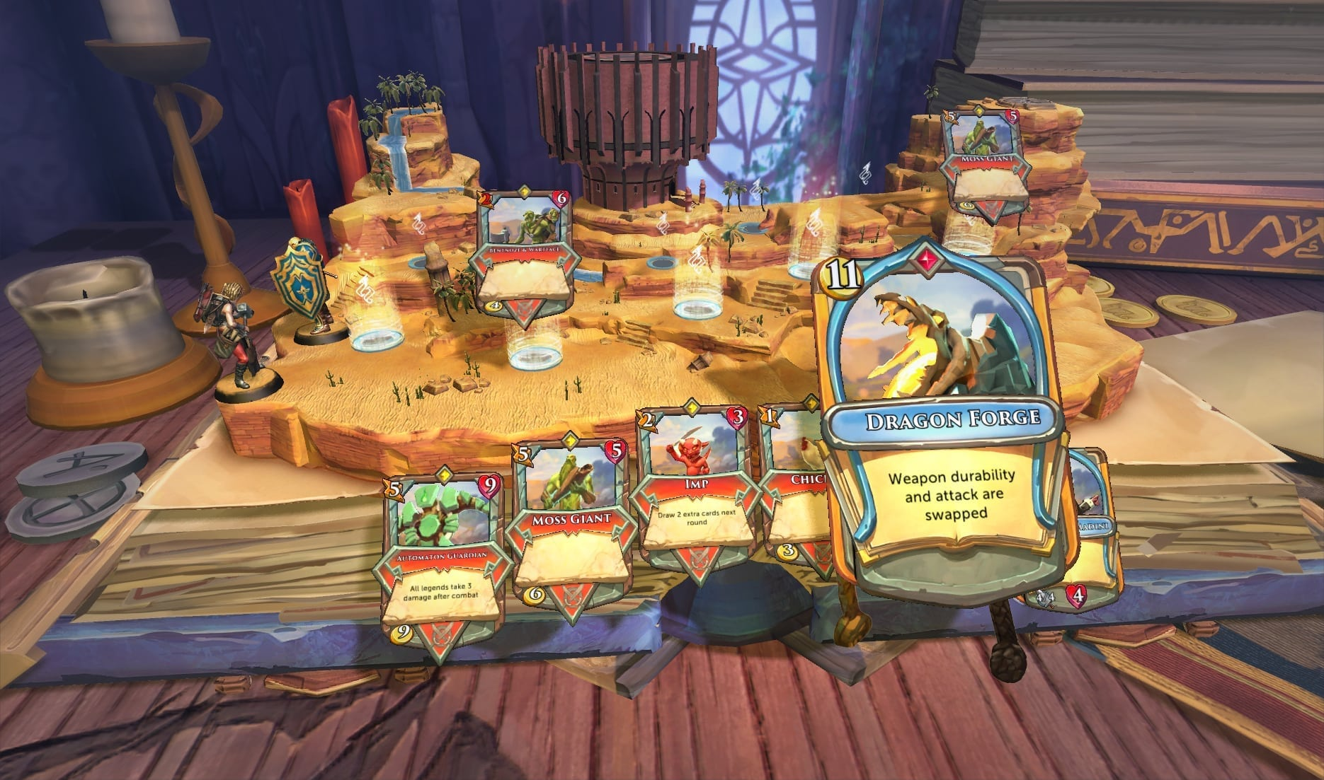 Chronicle Runescape Legends New Card Game Launching