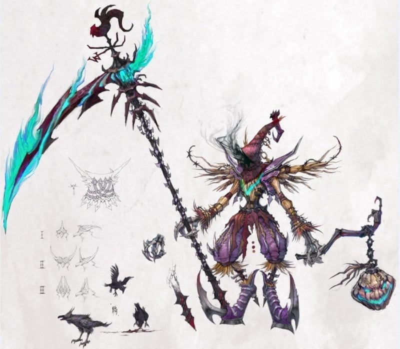 Fantasy Frontier - Sky Rift boss artwork