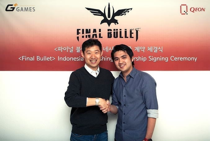 Final Bullet signing ceremony