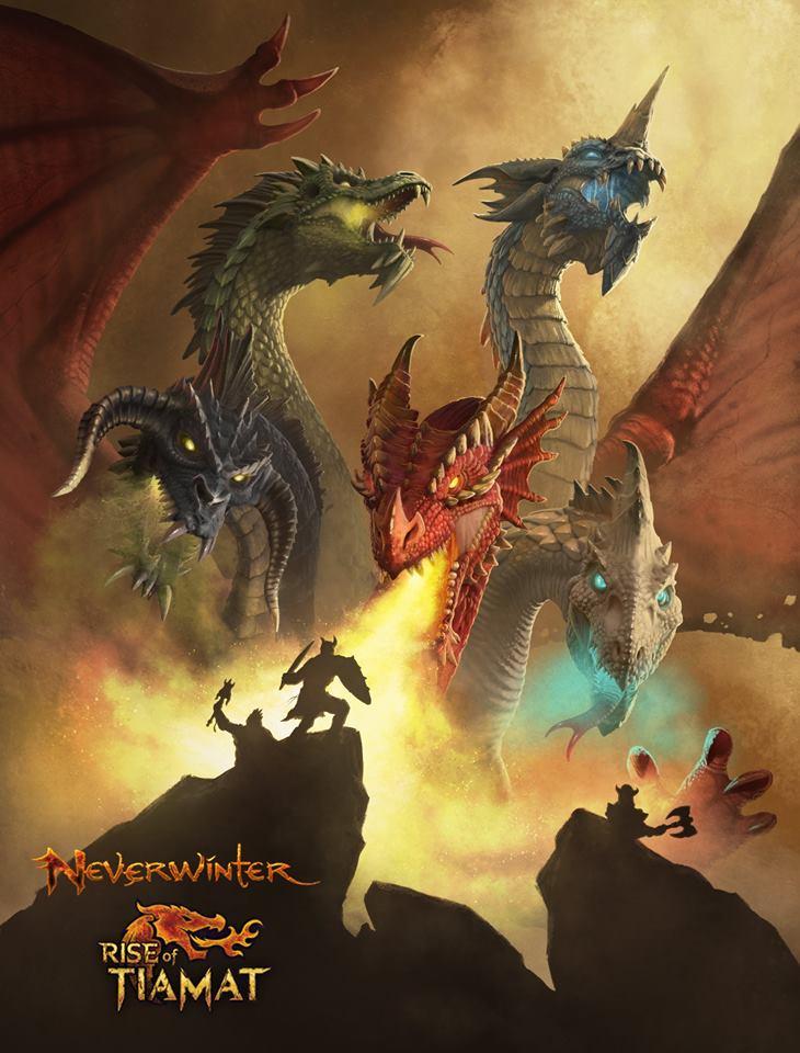 Neverwinter Rise of Tiamat poster