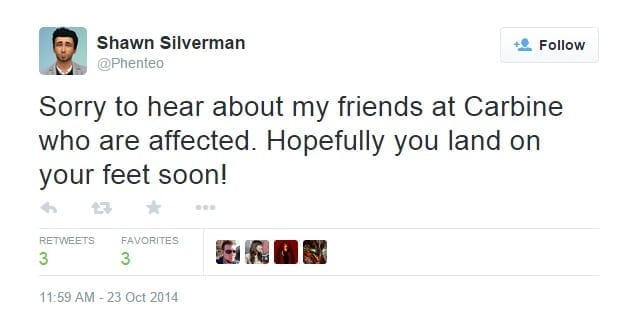 Shawn Silverman tweet