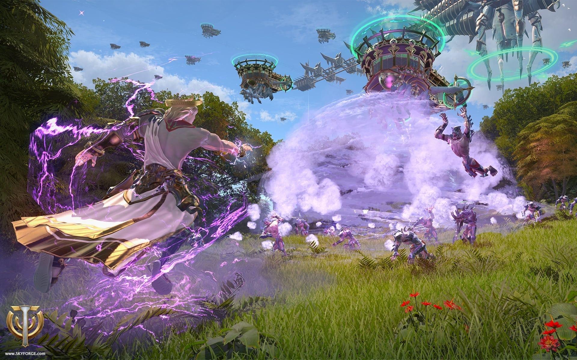 Skyforge - Invasion screenshot