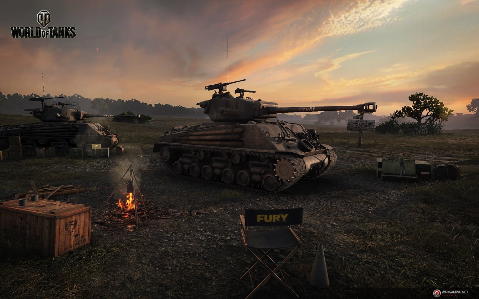 World of Tanks - Fury screenshot 1