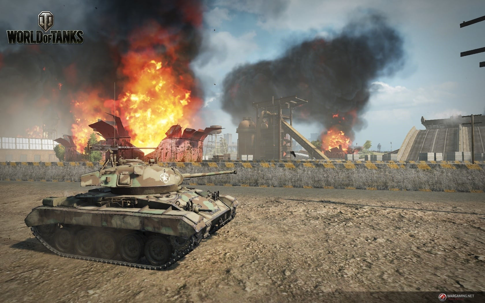 World of Tanks - Tank Rally mode screenshot 1