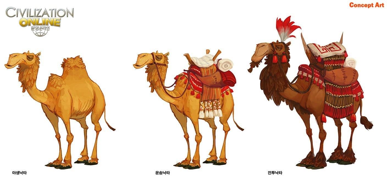 Civilization Online - Camel concept art