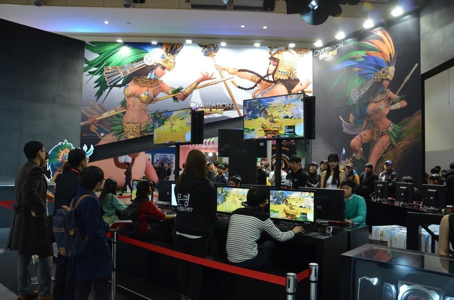 Civilization Online - G-Star 2014 booth 1