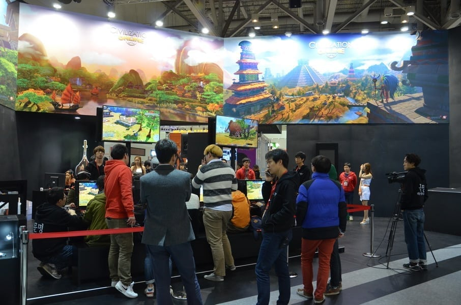 Civilization Online - G-Star 2014 booth 2