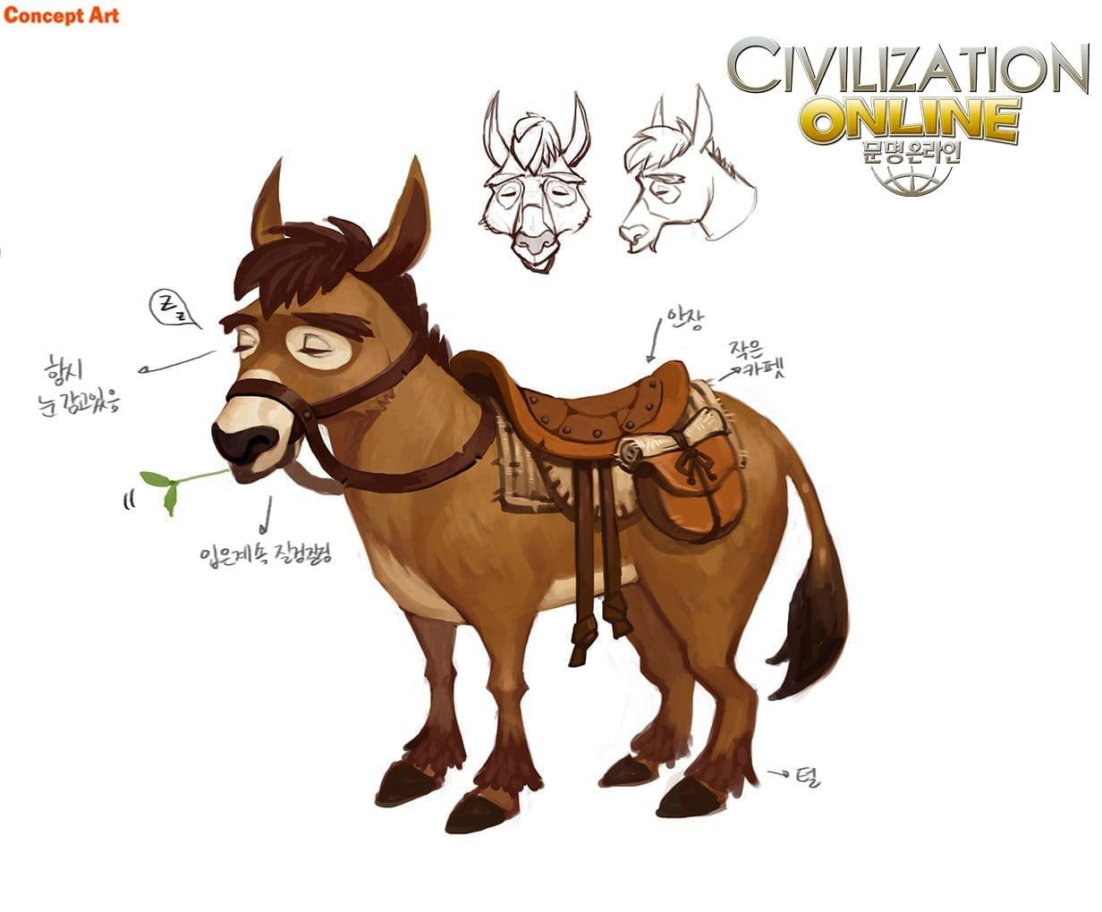 Civilization Online - Mule concept arttt