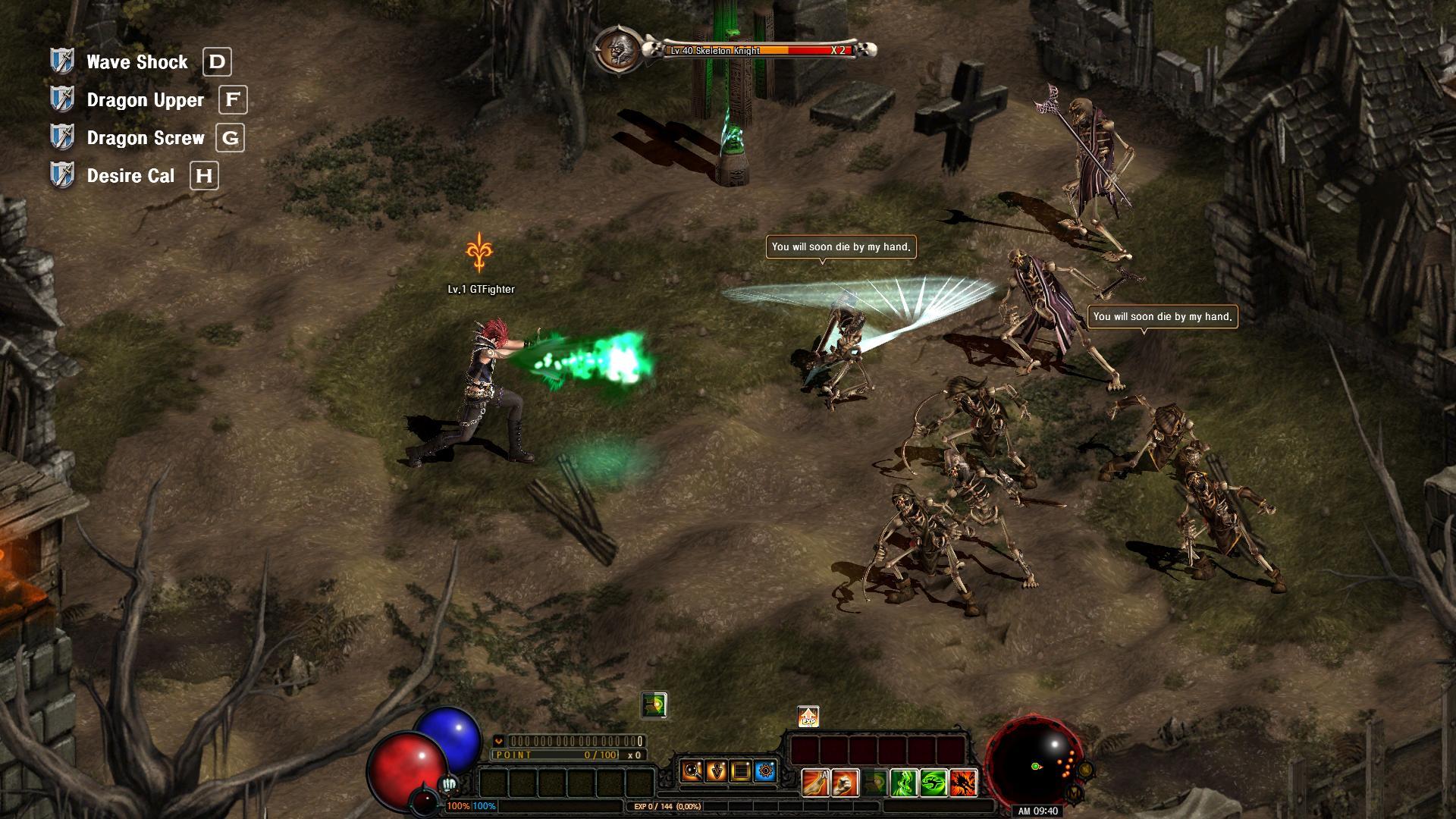 Dark Blood Online - Fighter screenshot 1