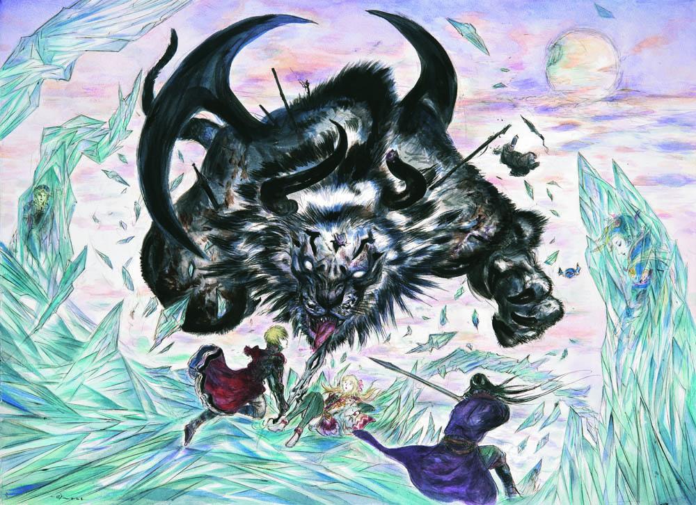 Final Fantasy Brave Exvius artwork