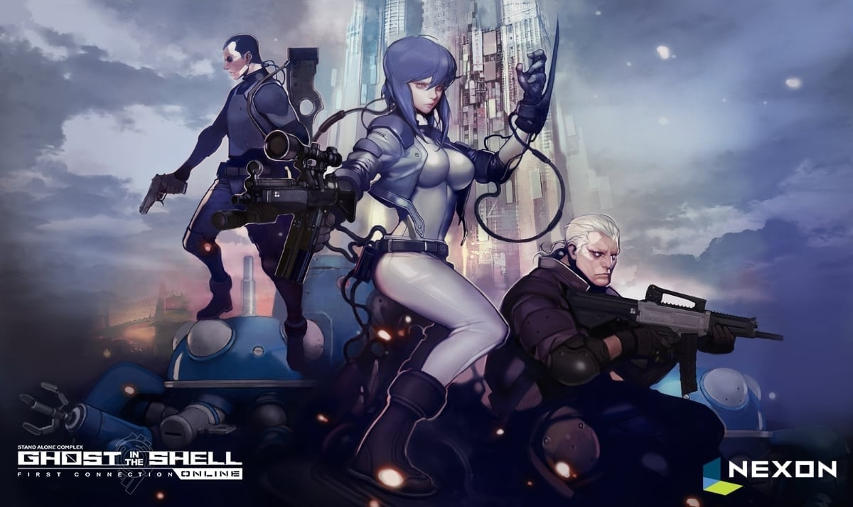 Ghost in the Shell artwork 1