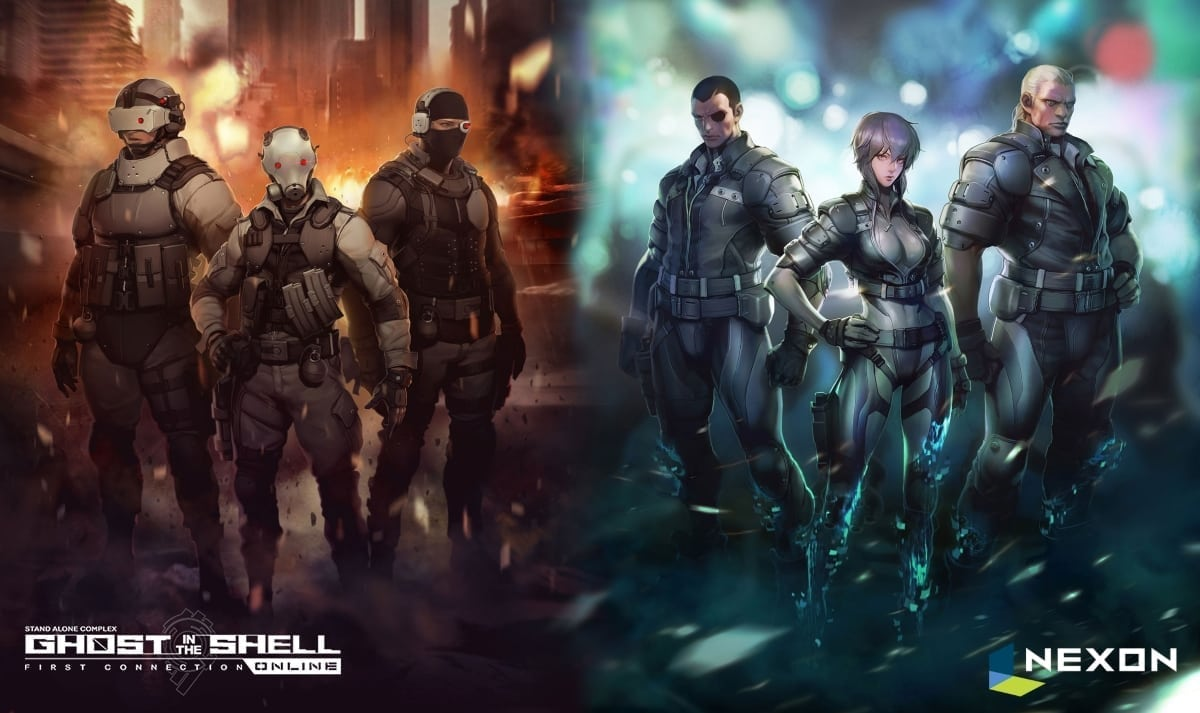 Ghost in the Shell artwork 2