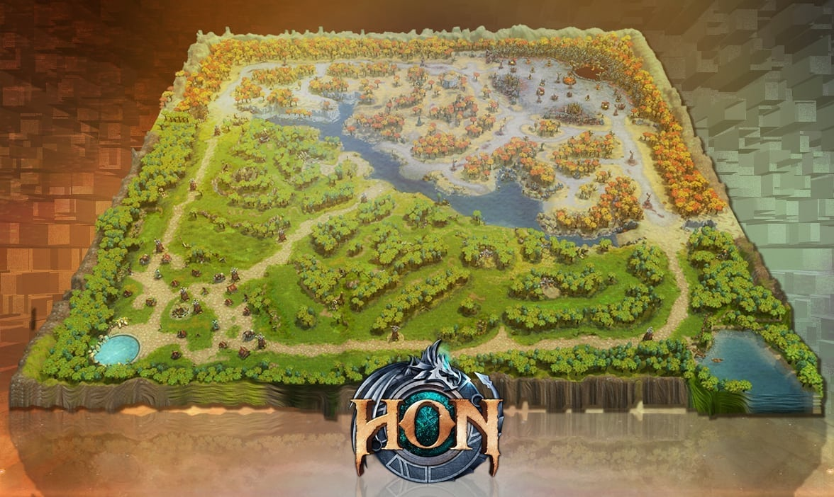 Heroes of newerth tencent creates worlds largest lego game map heroes of newerth lego map 2 gumiabroncs