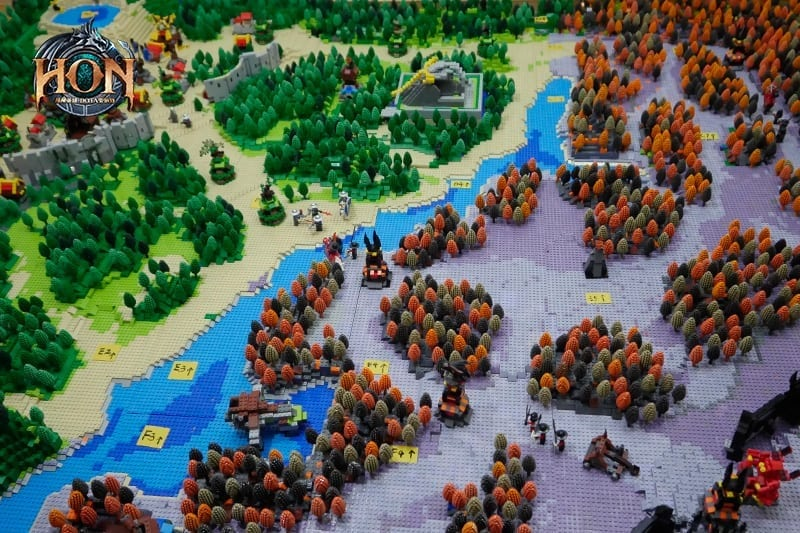 Heroes of Newerth - LEGO map 5