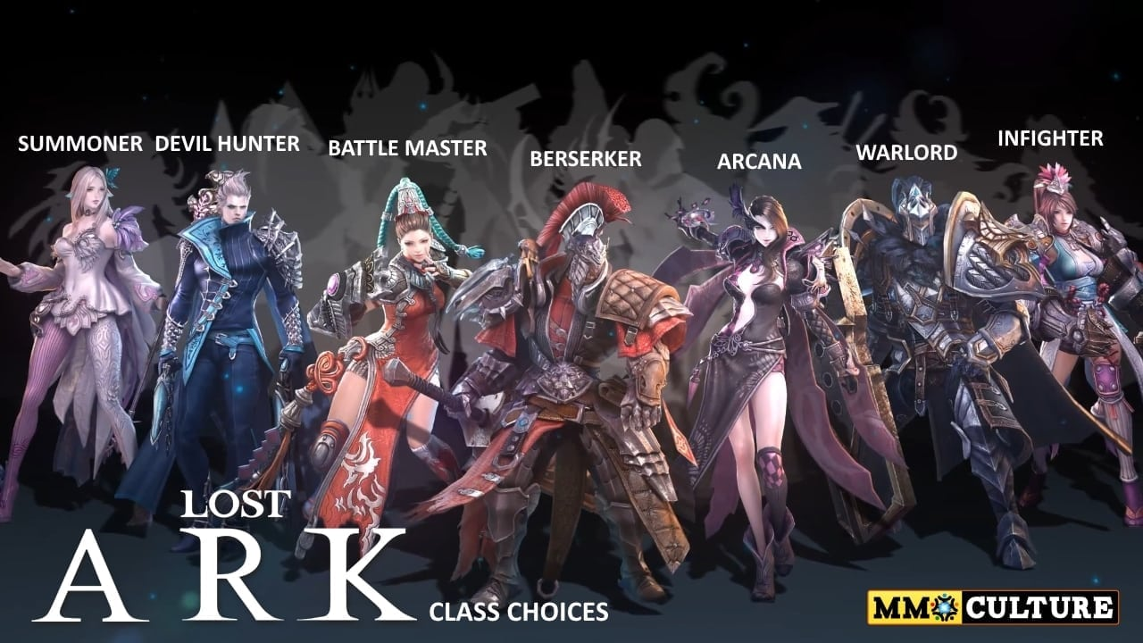 Lost Ark - Class choices
