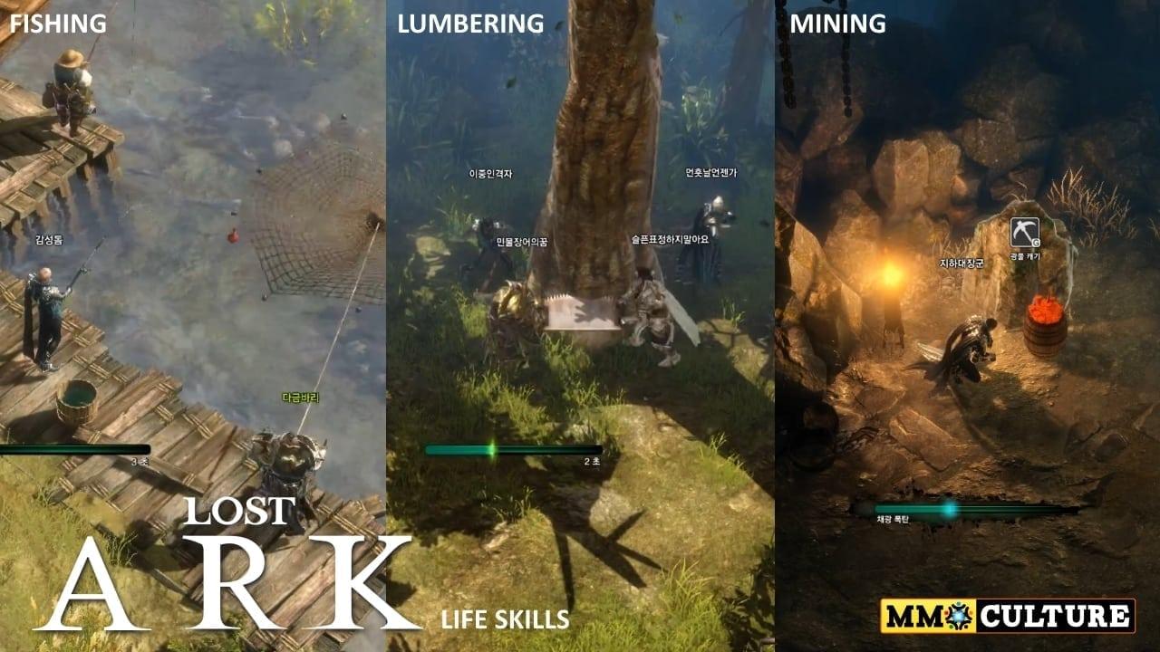 Lost Ark - Life skills