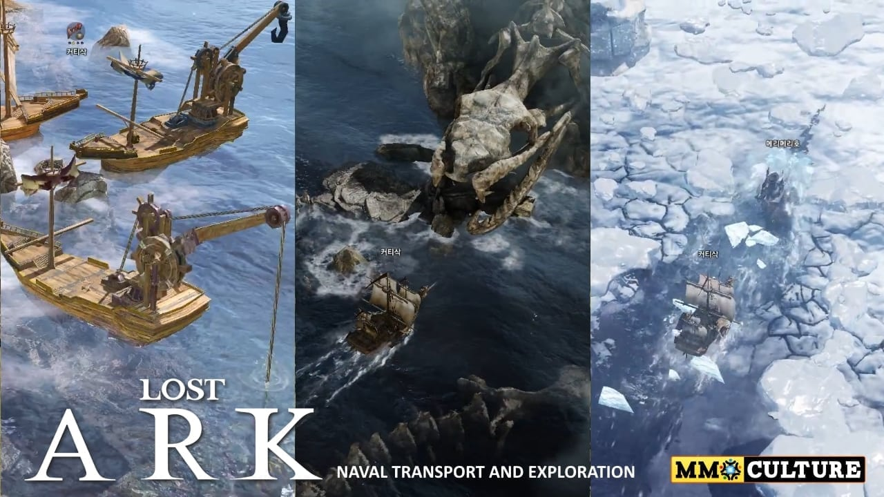 Lost Ark - Naval transport and exploration