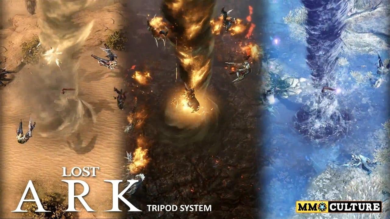 Lost Ark - Tripod system