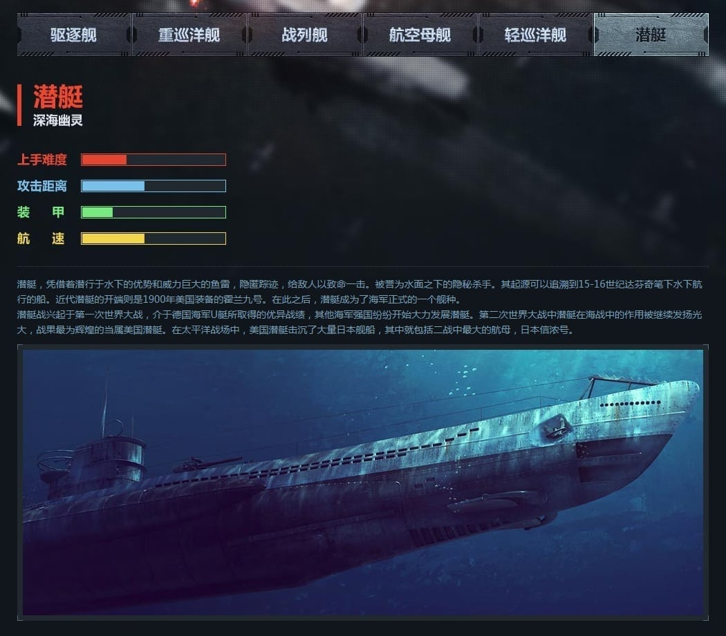 Steel Ocean - Submarine class