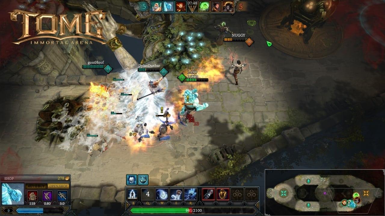 TOME Immortal Arena screenshot 1
