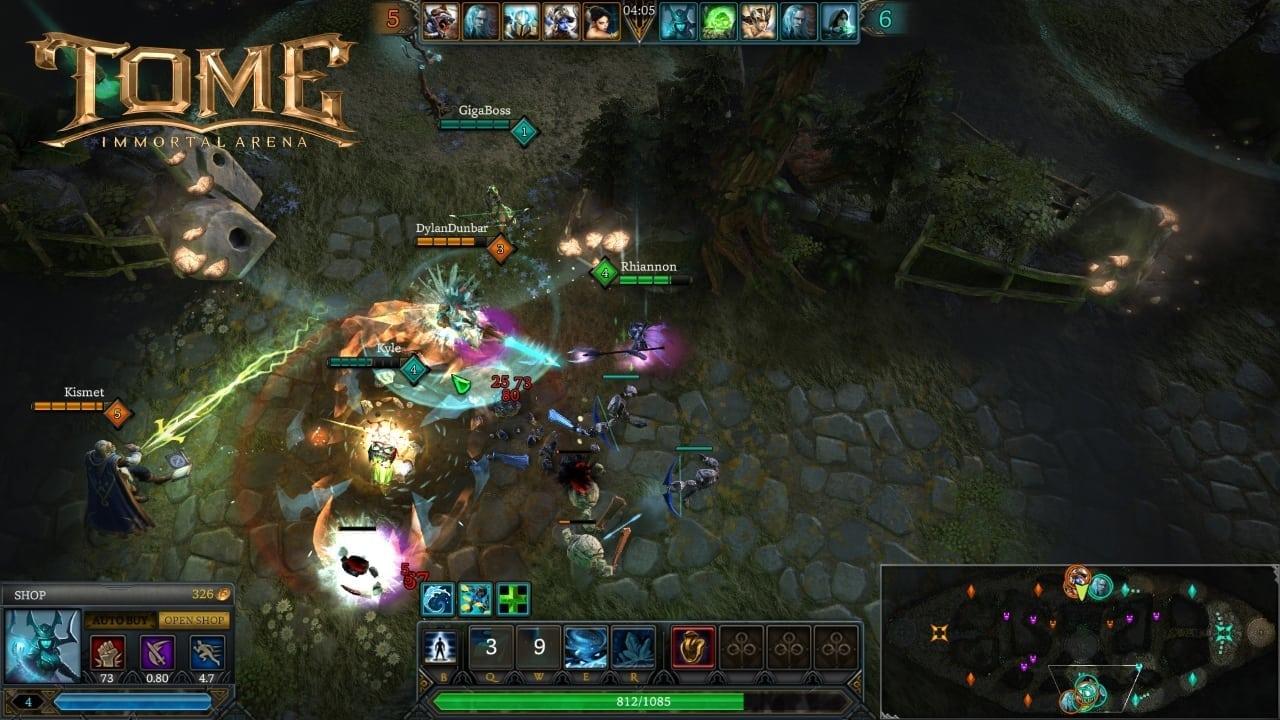 TOME Immortal Arena screenshot 4