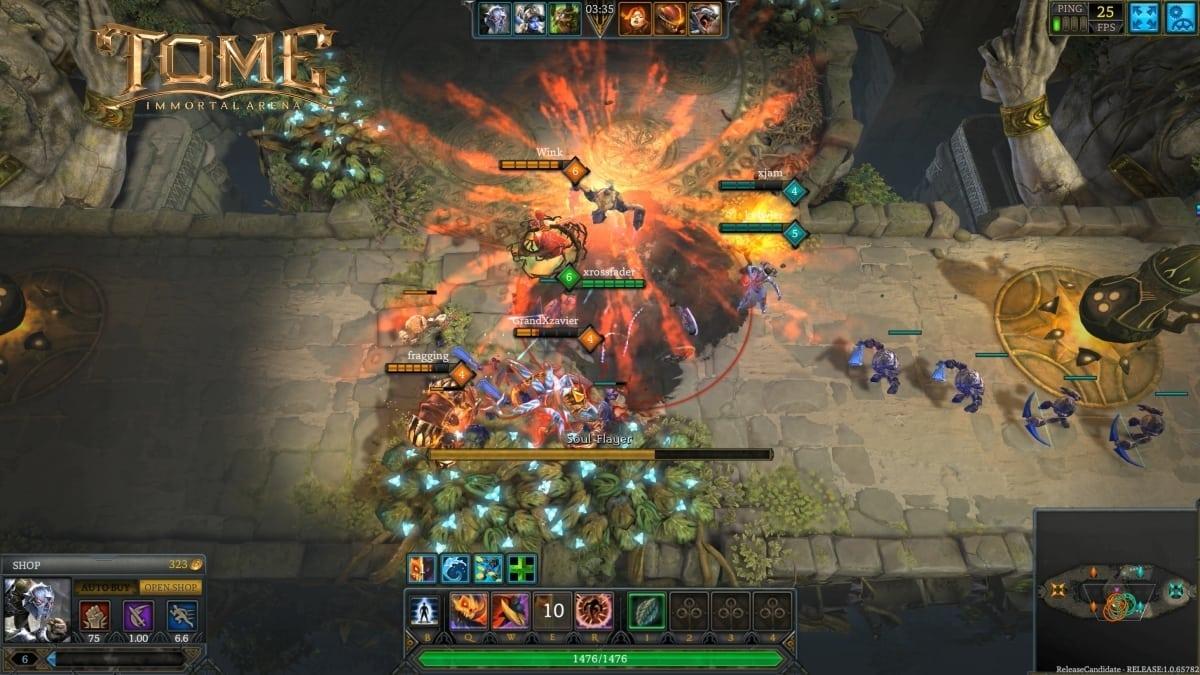 Tome Immortal Arena screenshot 2
