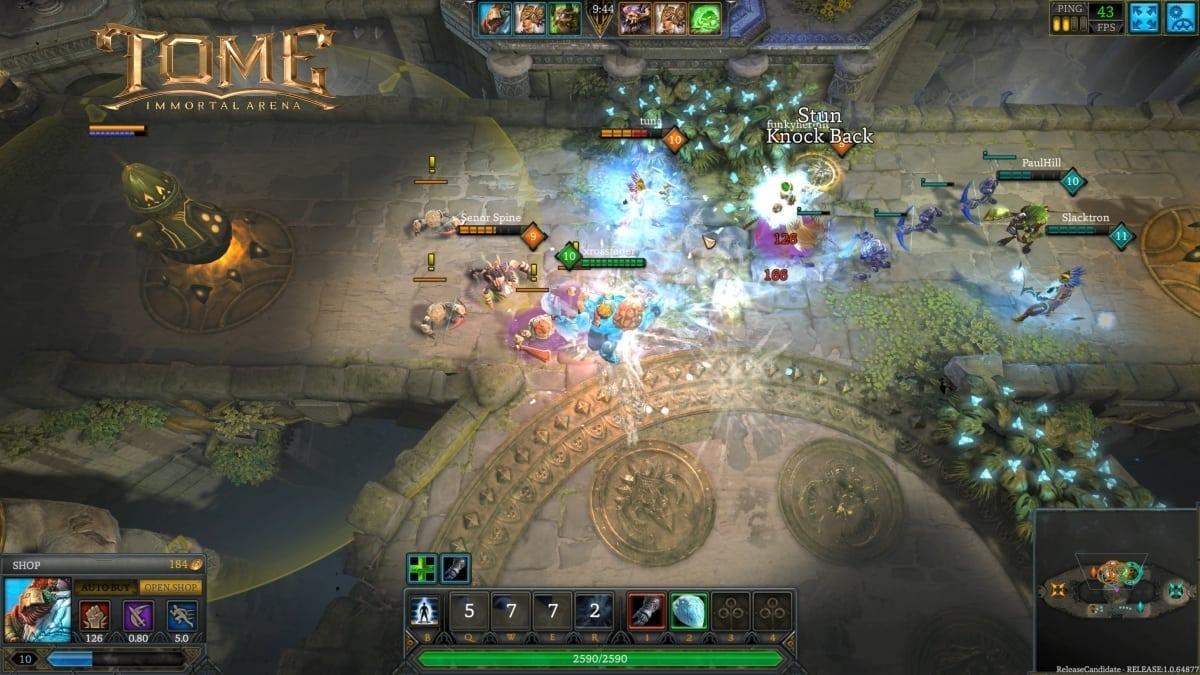 Tome Immortal Arena screenshot 3