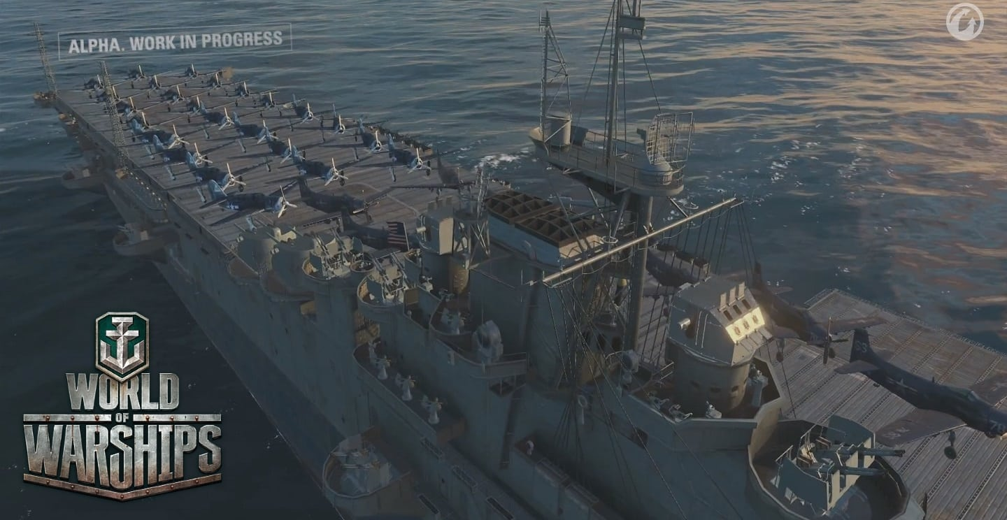 World of Warships - Air carriers