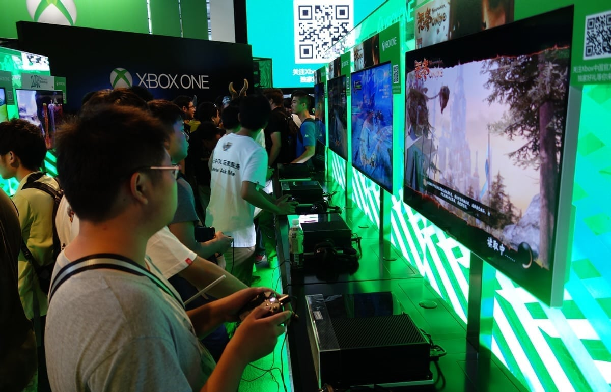 Xbox One China event