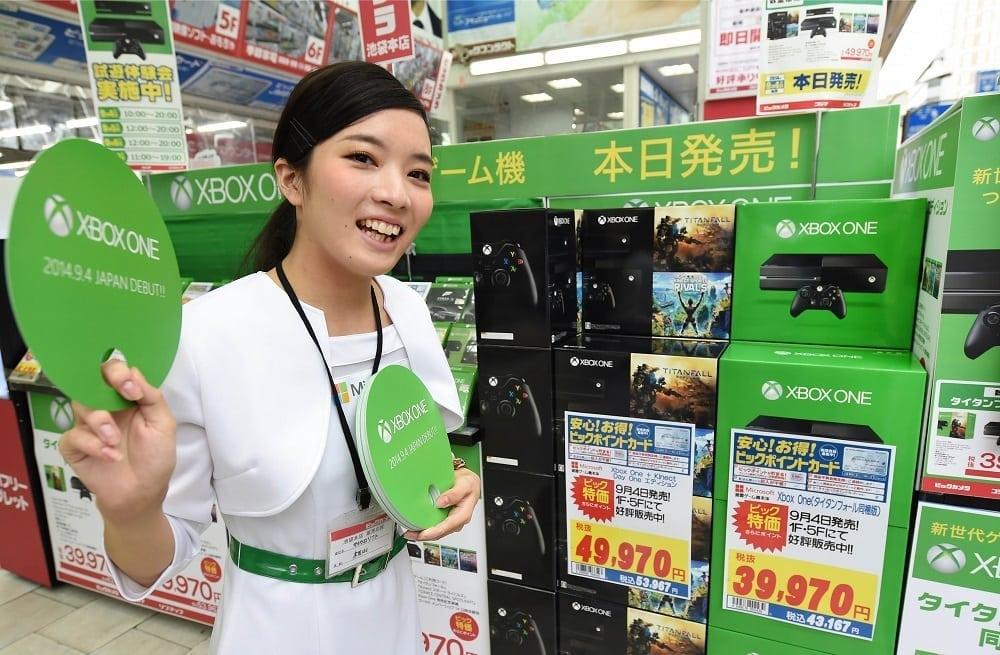 Xbox One - Japan sales photo