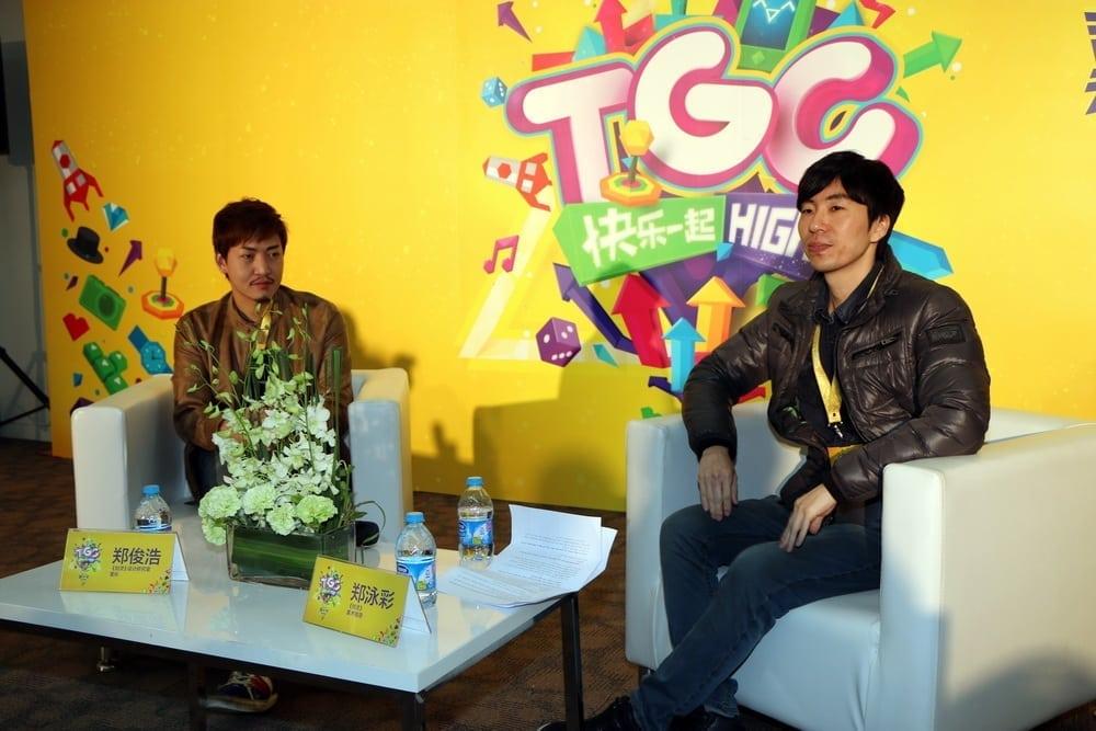 Blade & Soul dev team at Tencent Games Carnival 2014