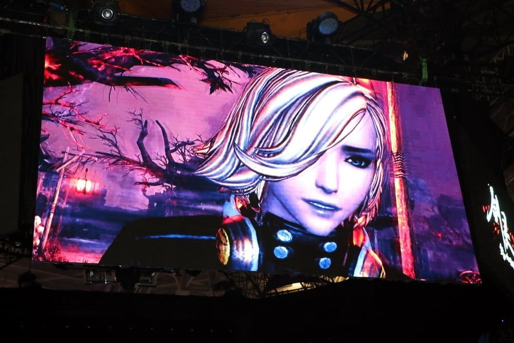 Blade & Soul photo at Tencent Games Carnival 2014