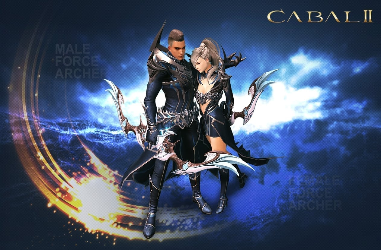 Cabal II - Male and female force archer class