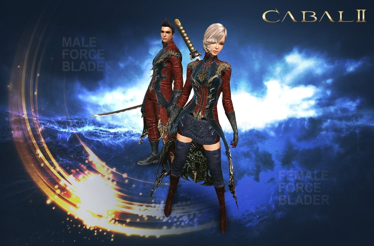 Cabal II - Male and female force blader class