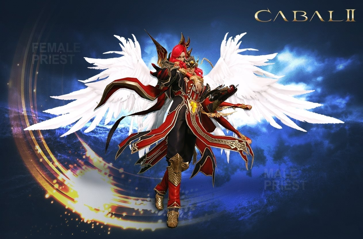 Cabal II - Male and female force priest class