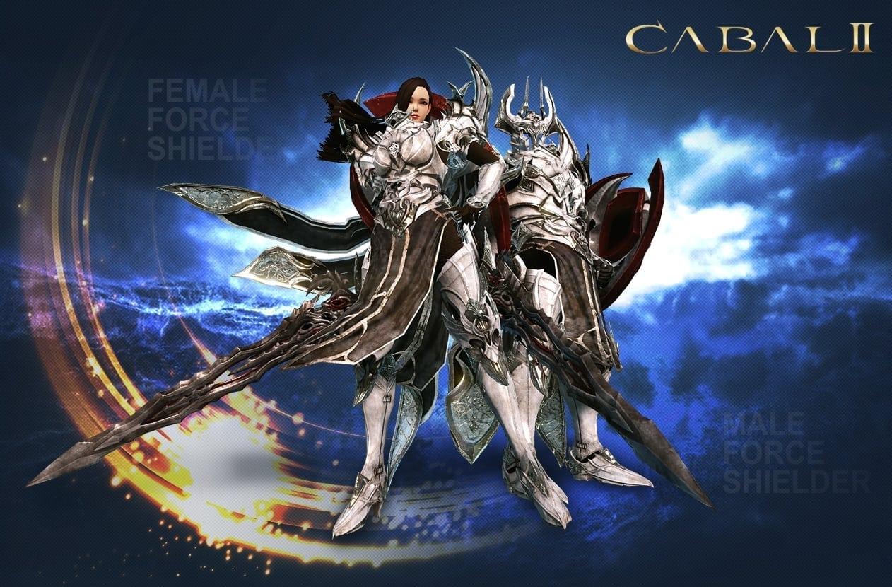 Cabal II - Male and female force shielder class